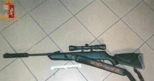 Fucili acquistati on-line dalla Polonia e detenuti illegalmente: 2 denunce